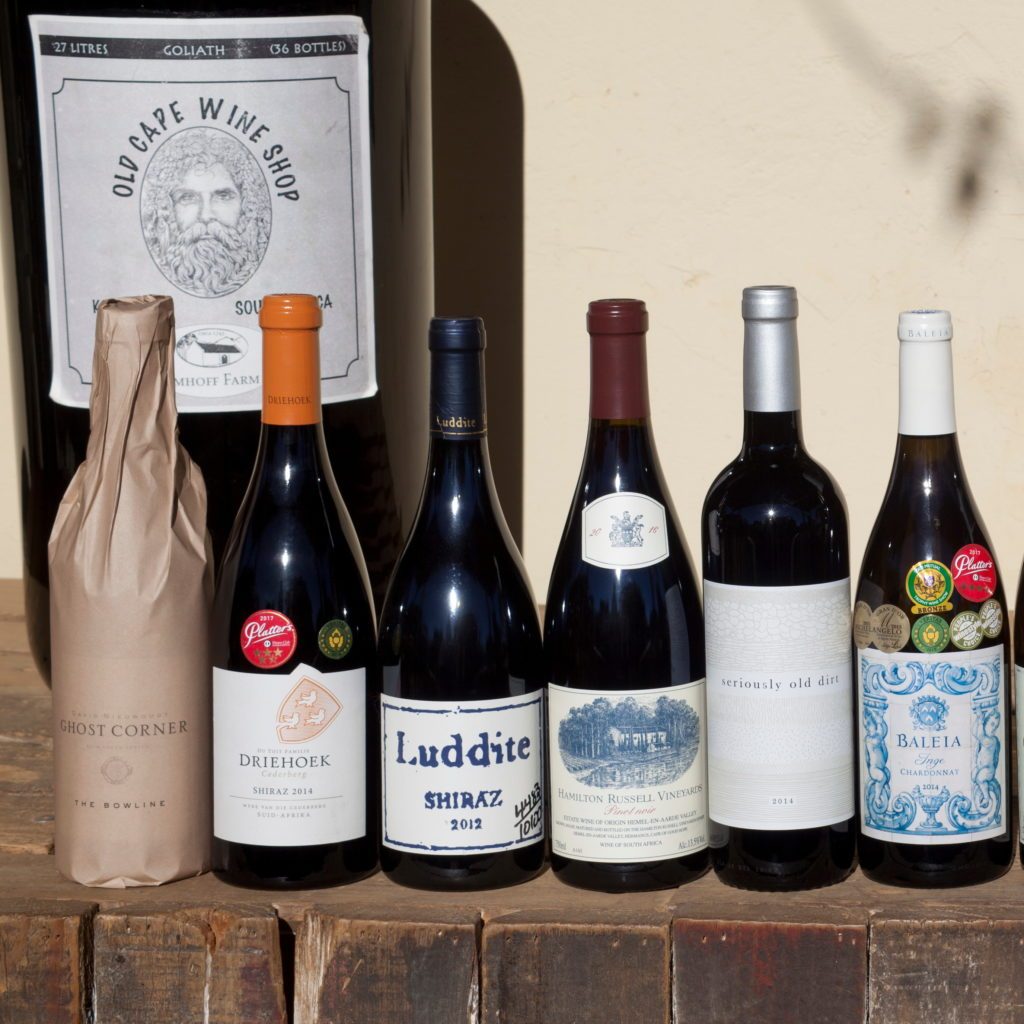 Collection of Cape wines