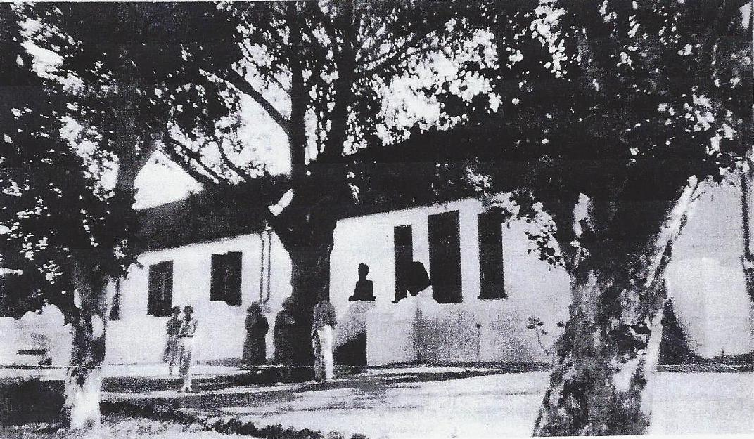 The original Imhoff's Gift farmhouse.